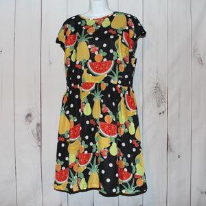 NWT ModCloth Bea and Dot Fruit dress 1x